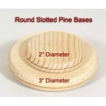 2 inch Round Slotted Base