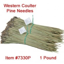 Western Coulter Pine Needles - 1 lb. bundle