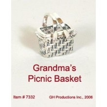 Grandma's Picnic Basket Sterling Silver