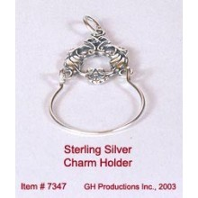 Charm Holder Sterling Silver