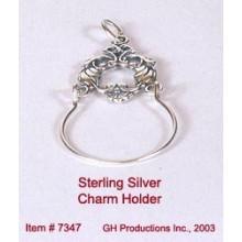 Charm Holder Sterling Silver