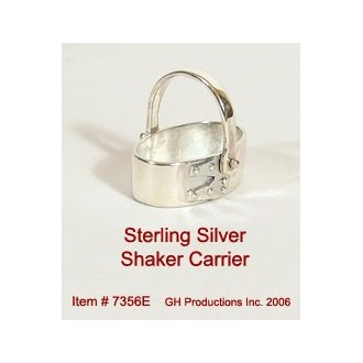 Shaker Carrier Sterling Silver
