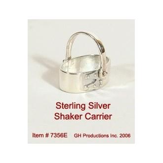 Shaker Carrier Sterling Silver