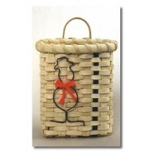 Snowman Ornament Basket Kit