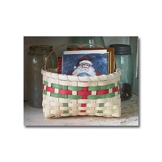 Holiday Card Basket Kit