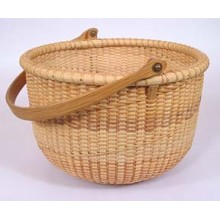 8 inch Spiral-weave Nantucket Basket Kit