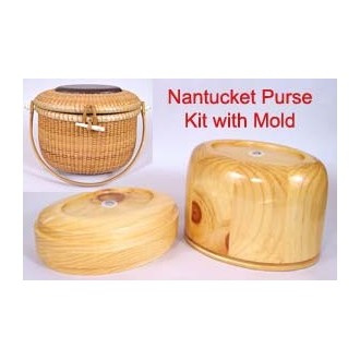 8 inch Classic Oval Nantucket Purse Kit with Purse Molds - Temporarily out of Stock