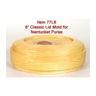 8 inch Classic Oval Lid Mold for Purse - Temporarily Out of Stock