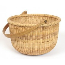 "8"" Spiral weave Nantucket Lightship Basket Pattern"