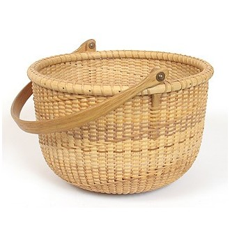 8 Spiral weave Nantucket Lightship Basket Pattern