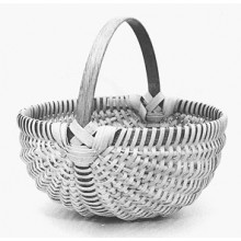 Melon-Shaped Egg Basket Pattern
