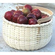 Apple Basket with Swing Handle Pattern