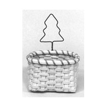 Tree Ornament Basket Pattern