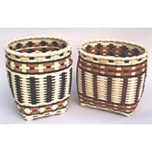 Cherokee-style Storage Basket Pattern