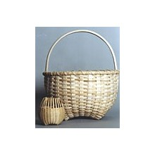 Hand-shaped Cathead Basket Pattern