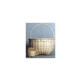 Hand-shaped Cathead Basket Pattern