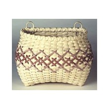 Embroidered Wall Basket Pattern
