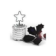 Star Ornament Basket -- Pattern Sheet