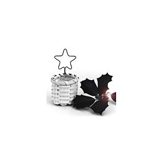 Star Ornament Basket -- Pattern Sheet