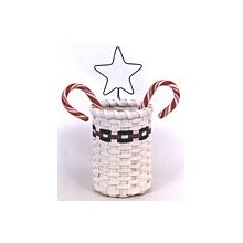 Candy Cane Basket -- Pattern Sheet