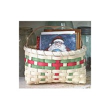Holiday Card Basket -- Pattern Sheet