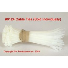 "Sold individually - Cable Ties 4"" length"