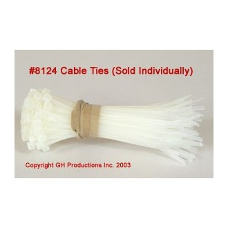 """Sold individually - Cable Ties 4"""" length"""