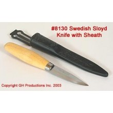 Swedish Sloyd Knife with sheath