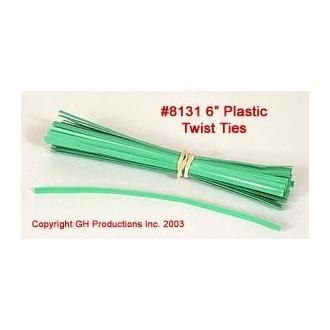 Plastic Twist Ties - 100 per pkg.