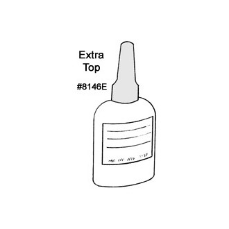 Extra Bottle Top for Glue