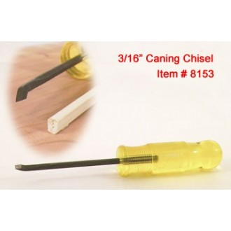 Caning Chisel - 3/16 inch