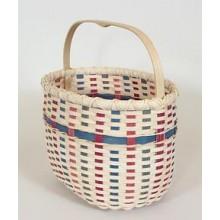 Springtime Tote Basket -- Pattern Sheet