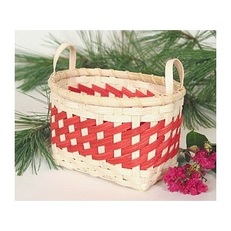 Peppermint Twist Basket -- Pattern Sheet