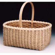Sea Grass Market Double Wall Basket Pattern