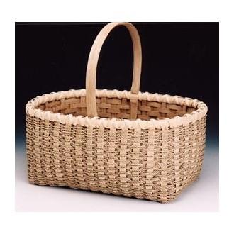 Sea Grass Market Double Wall Basket Pattern