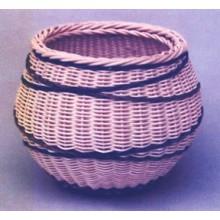 Crossed Paths Basket Pattern