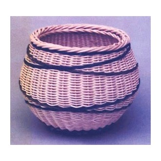 Crossed Paths Basket Pattern