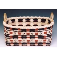 Dyed Stamped Basket Pattern