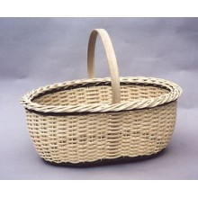 Oval Wicker Picnic Basket Pattern