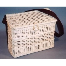 Shoulder Bag Square Work Basket Pattern
