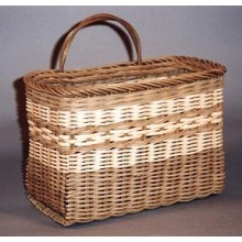 Double Bottom Mail Basket Pattern