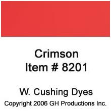 Crimson Dye W. Cushing Co.