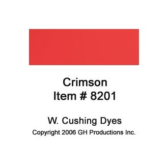 Crimson Dye W. Cushing Co.