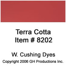 Terra Cotta Dye W. Cushing Co.