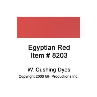 Egyptian Red Dye W. Cushing Co.