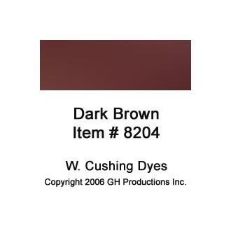 Dark Brown Dye W. Cushing Co.