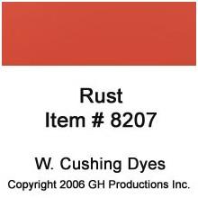 Rust Dye W. Cushing Co.