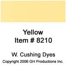 Yellow Dye W. Cushing Co.