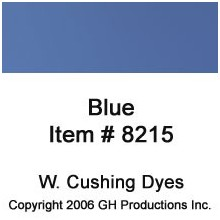 Blue Dye W. Cushing Co.