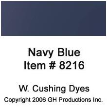 Navy Blue Dye W. Cushing Co.